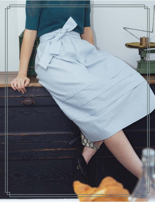 Skirt Yves blue
