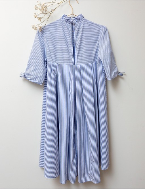Petit Lever Nightgown stripes