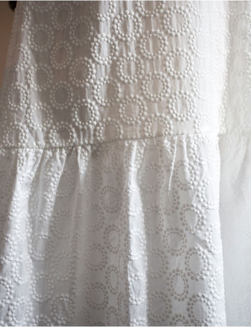 Robe Hubert broderie anglaise