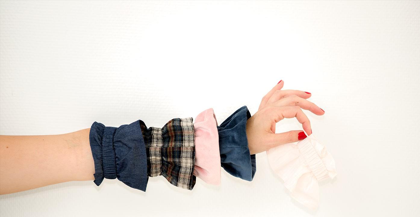 Removable cuffs